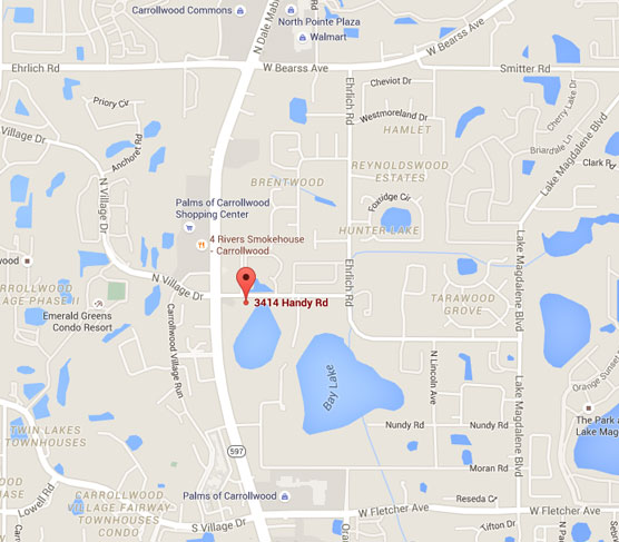 Tampa Florida Map.Site Map Gsd Orthodontics Tampa Fl